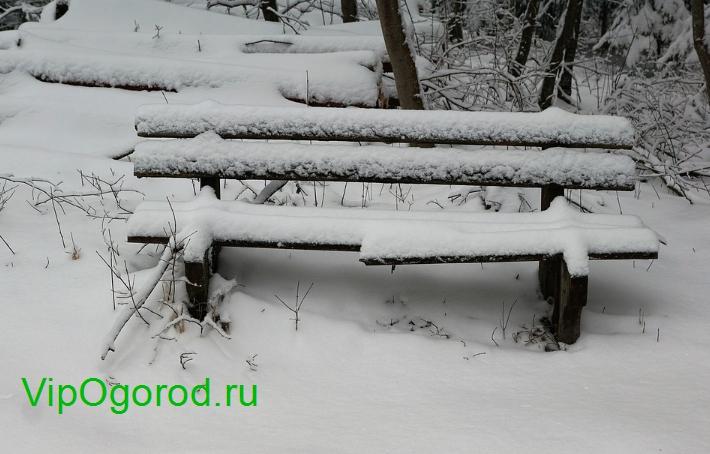 замело снегом