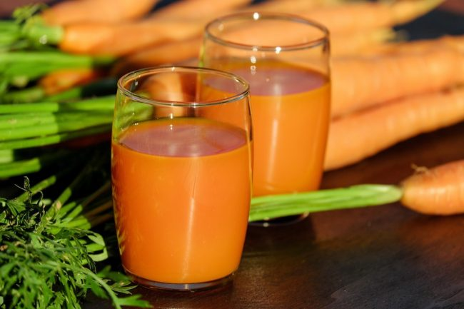 морковный сок на зиму