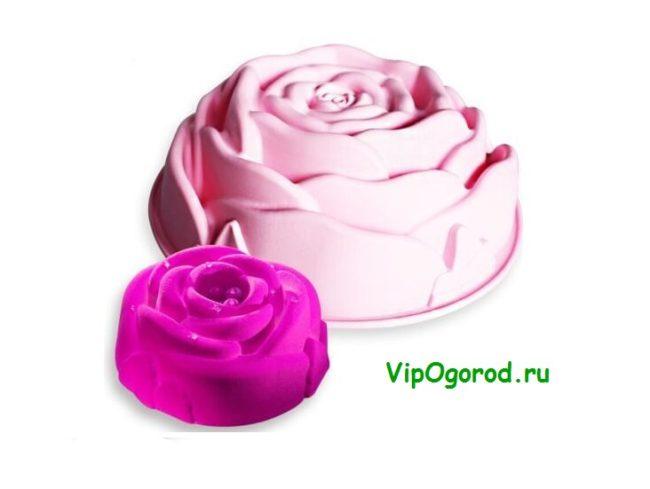 Суфле Роза любви на 14 февраля