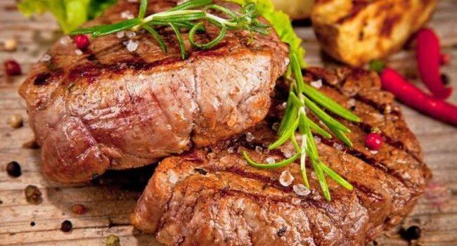Стейк из говядины Для любимого мужа - приготовьте на 23 февраля