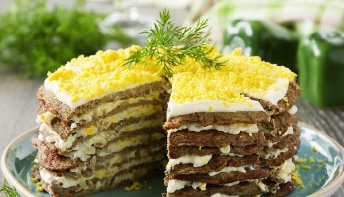Как приготовить торт из куриной печени рецепт с фото пошагово