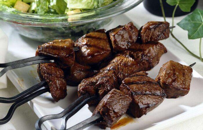 печень в жировой сетке на углях рецепт приготовления