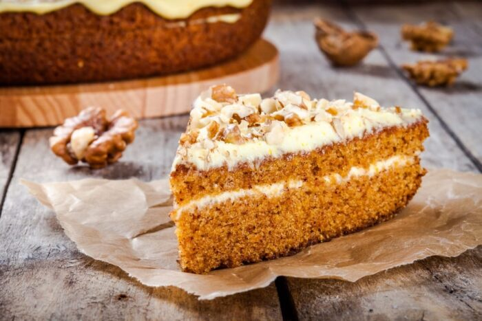 марковный пирог с грецким орехом